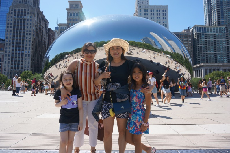 MTs in Chicago (Ednie Mckeehan and Marie Frances Pomperada with their girls)