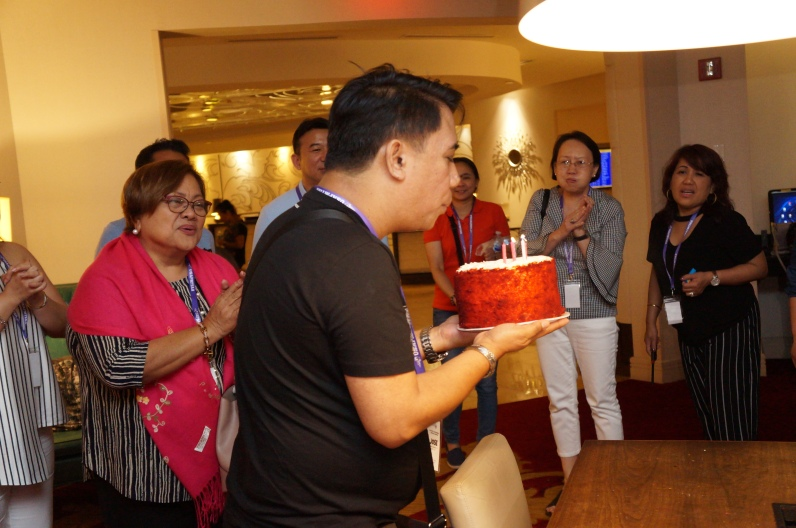 Joemay, our July Birthday Celebrant